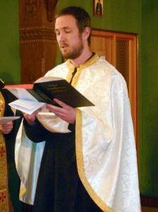 Cyril Kennedy – Lector and Seminarian