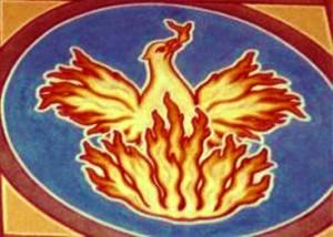 The phoenix, the mythical bird