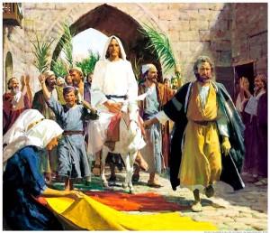 Palm Sunday - The Lord's Entrance into Jerusalem