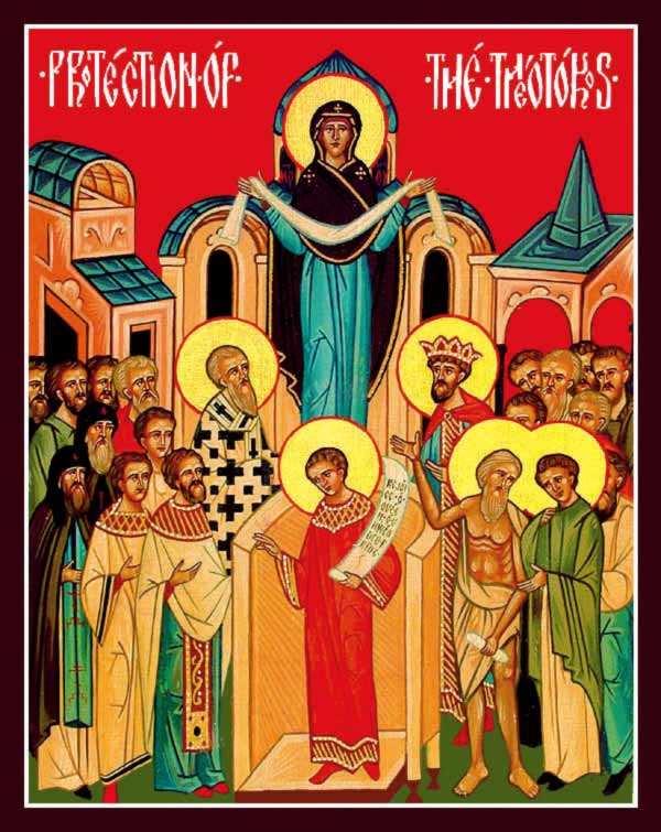 The Protection of the Most Holy Theotokos