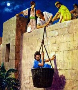 2 Corinthians 11:31-12:9 -  Apostle Paul escape from Damascus.