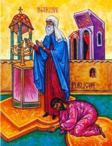 Sunday of the Publican and Pharisee
