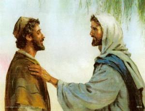 Jesus and Nathanael