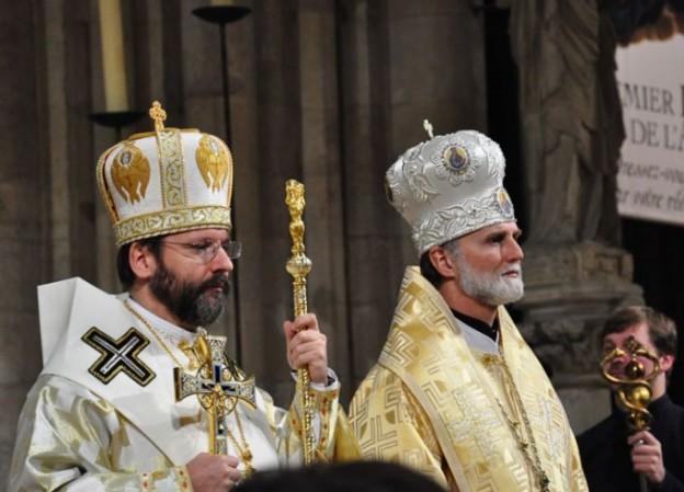Patriarch Sviatoslav -2015 French visit