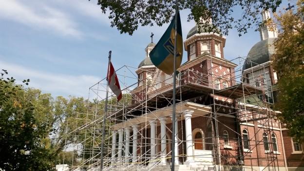St. Josaphat under restoration Aug. 2015