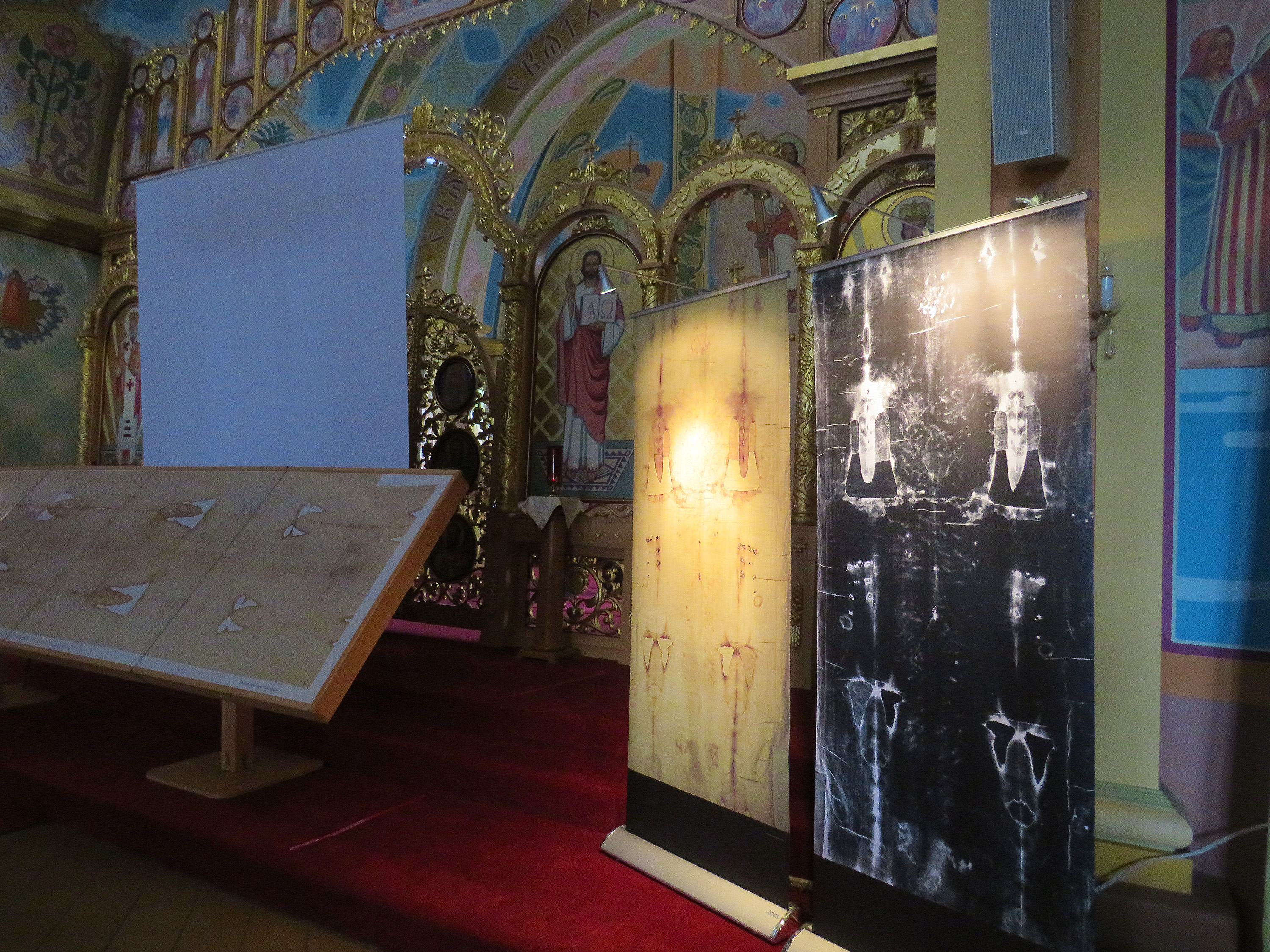 Shroud of Turin Presentations at St. Josaphat's