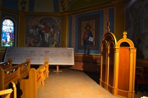 Shroud of Turin at St. Josaphat's