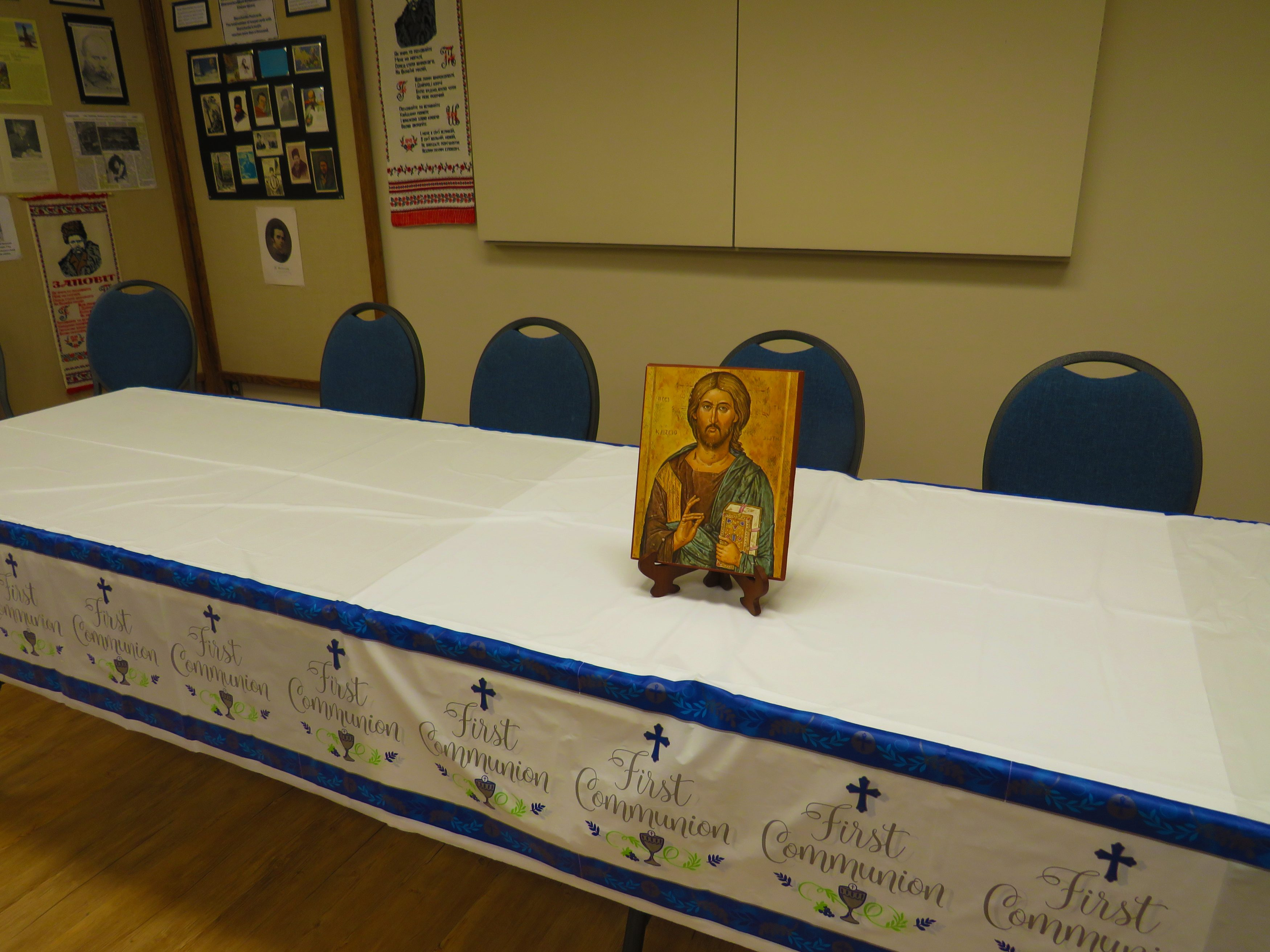 First Communion Table