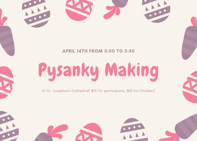 Pysanky Making