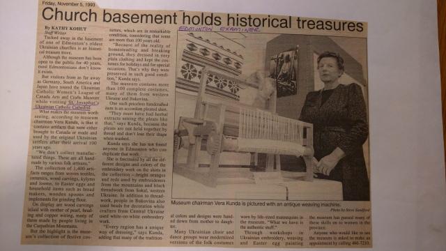 UCWLC Museum Article