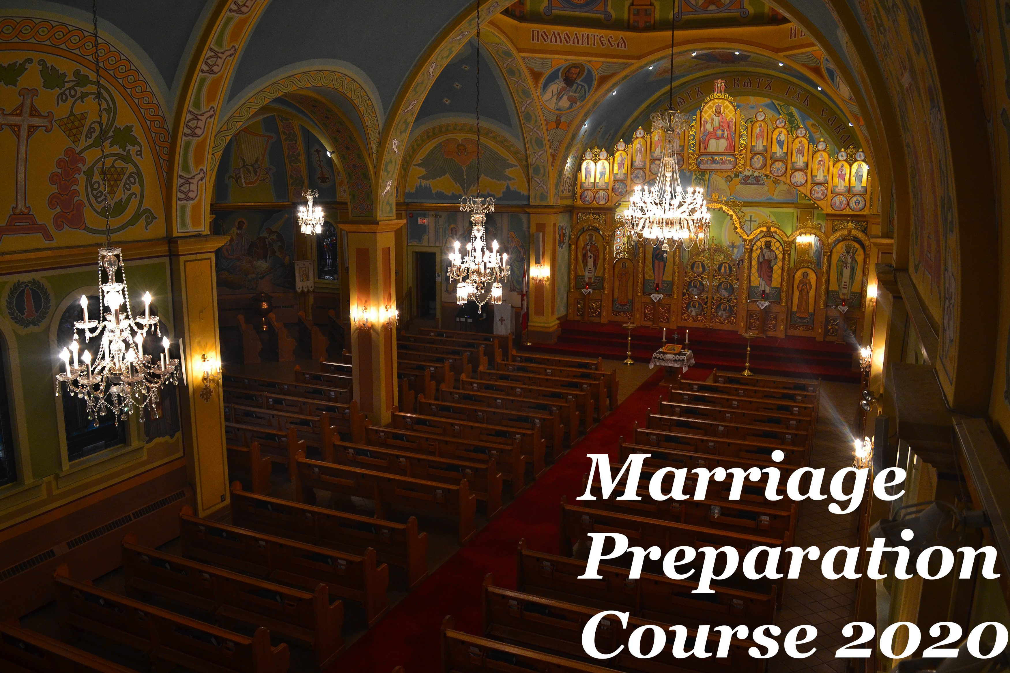 St. Josaphat's Cathedral Marriage Preparation
