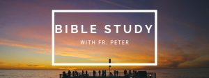 Bible Study with Fr. Peter
